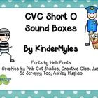 Short O CVC picture cards with sound boxes covering several word families. Use counters or letter tiles with these sound boxes. Variety of counters...