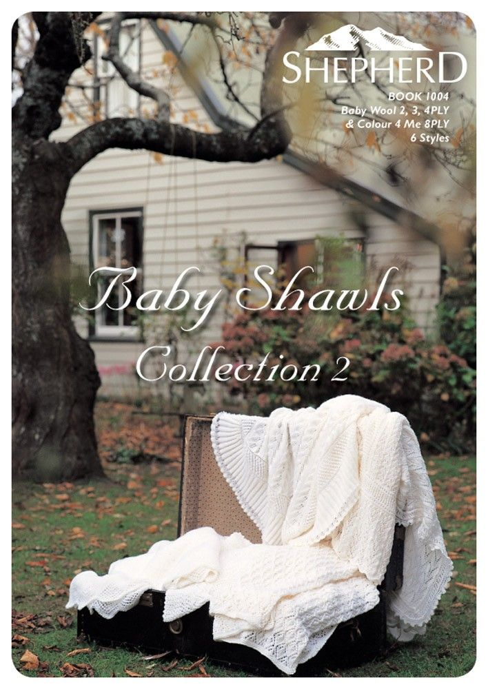 Baby Shawls Collection Book 2 by Patons - 1004