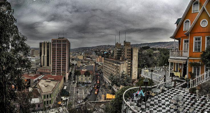 Valparaiso desde lo alto