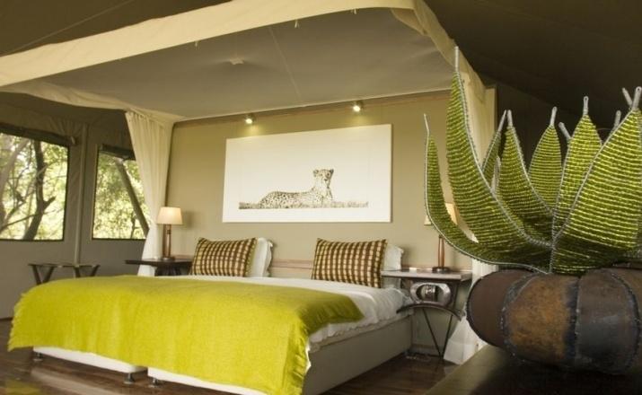 Idylle mitten in der Wildnis von Botswana