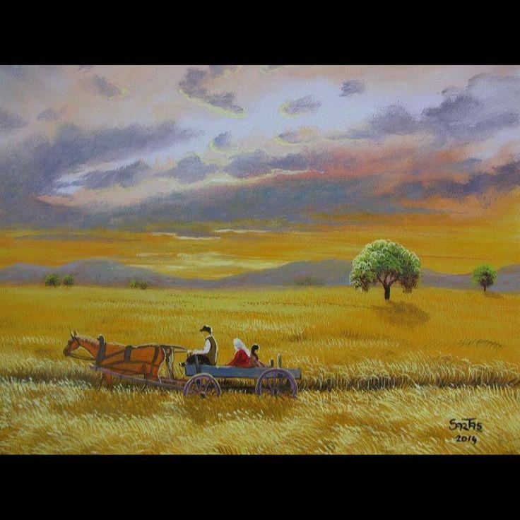 ✨HARMAN ✨ Tuval Üzeri Yağlı Boya.  #resim #tablo #sergi #resimsergisi #ressam #yağlıboya #oilpainting #sanat #ankara #izmir #istanbul #art #artwork #fineart #vscocam ✨Bu Esere Sahip Olmak İçin; Okan Sartaş 05074409494✨ #drawing #canvas #ig_turkey #turkeyinstagram #turkeyartist #artofdrawing #ig_art