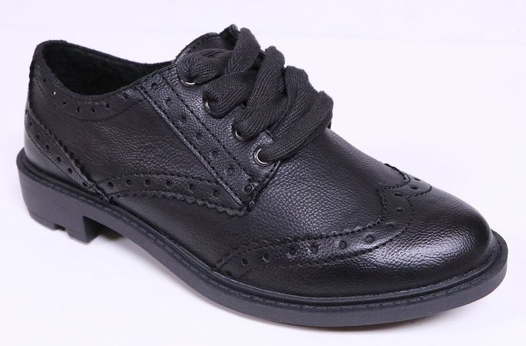 ROCKET DOG HARRY DERBY WOMEN'S BLACK LACE UP OXFORDS SHOES BROGUE NEW #RocketDog #Oxfords #Casual