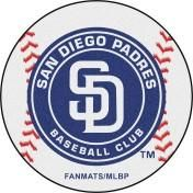 San Diego Padres baseball floor mat