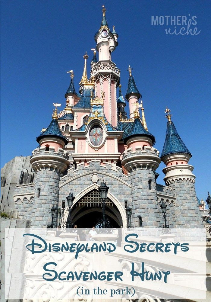 A Disney Scavenger Hunt for every Age: Hidden Mickeys and Other Secrets of…