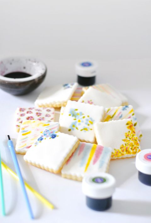 Watercolor Cookies | lark & linen