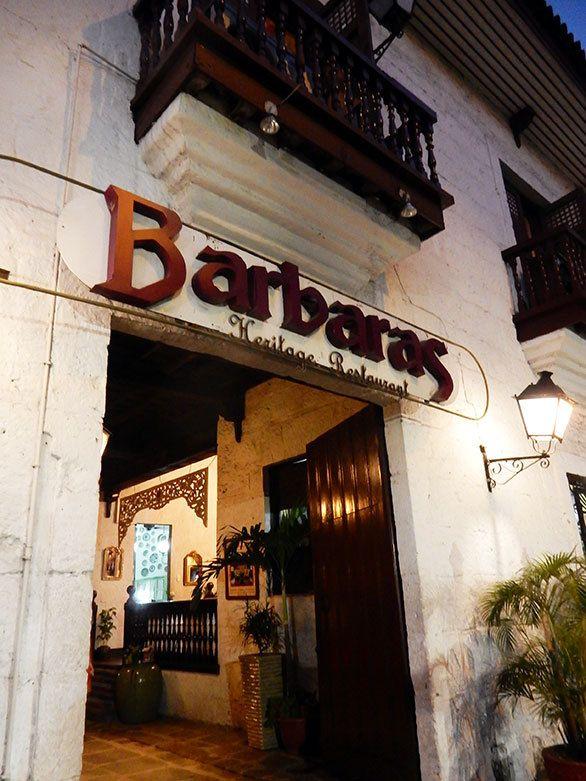 4ページ目)スペインの雰囲気漂うマニラの街で 絶品フィリピン料理を ... 古い白壁の建物の中にあって、とても雰囲気のある「バルバラス」。