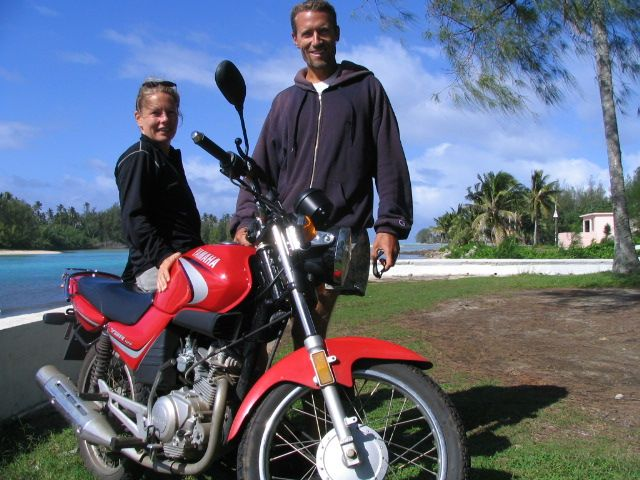 Motorcycle Hire Rarotonga, Cook Islands, hire a motorbike, bike & motorcycle for the day, the weekend, the week... ride around cook islands, we have lowest rates on all types of new model bike & motorbike rental Rarotonga.