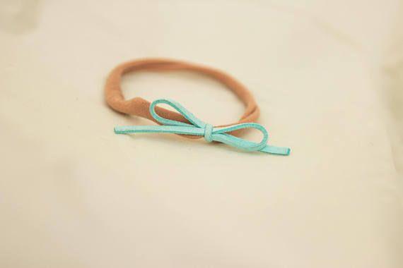 Aqua Nylon Headband