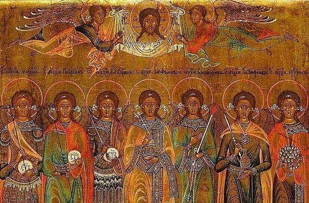 """26 июля празднуется СоборАрхангела Гавриила.Вспомним 7 архангелов и те """"ратные поля"""", за которые они отвечают."""