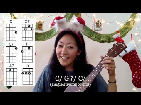 Mele Kalikimaka // Easy Ukulele Holiday Play-along with Chords and Lyrics - YouTube