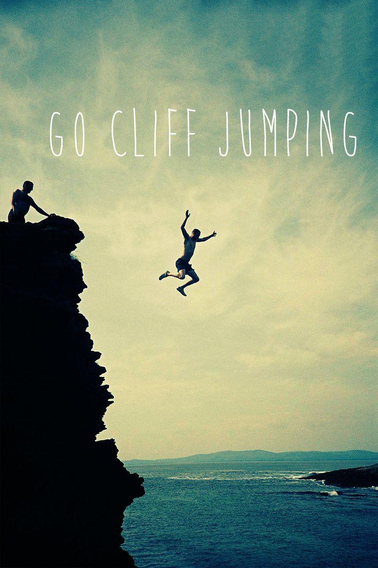 Go cliff jumping #bucketlist