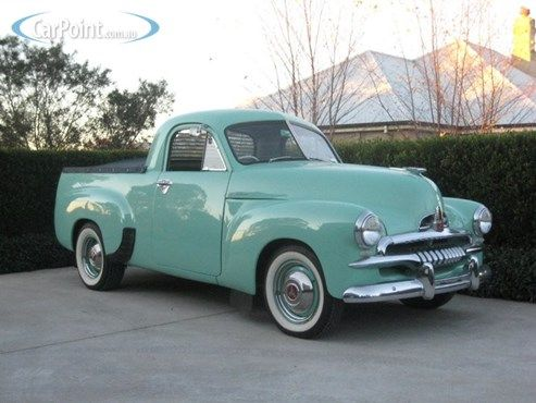1954 Holden FJ , one of A Crafty Cat's Dream cars and the car which inspired EFIJY