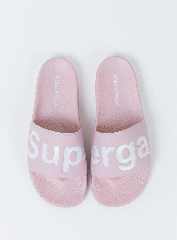 Superga Slide Blossom Pink   Women