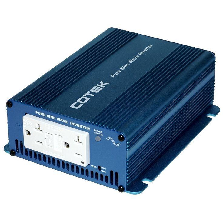 Cotek SK350 112 12v Pure Sine Wave Inverter With GFCI
