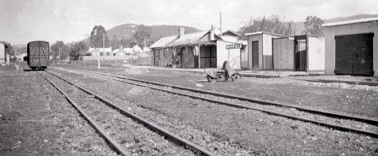 Whitfield narrow gauge station 1954