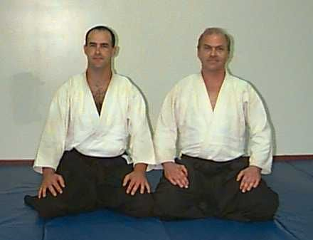 Sempai Sean Smith and Sensei Wirth - http://imagery.kinokawa.org/sempai-sean-smith-and-sensei-wirth/
