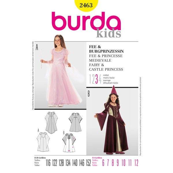 B2463 - Burda Style Fairy & Castle Princess - waistline only!