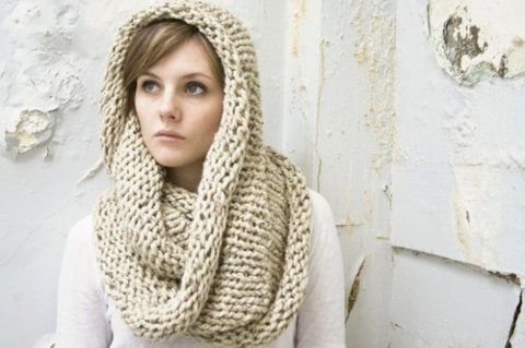 knitted infinity