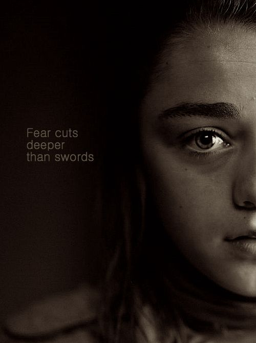 Arya Stark. One of the most dynamic characters of the series.