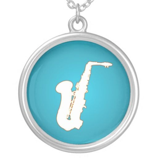Saxophone cartoopn custom jewelry