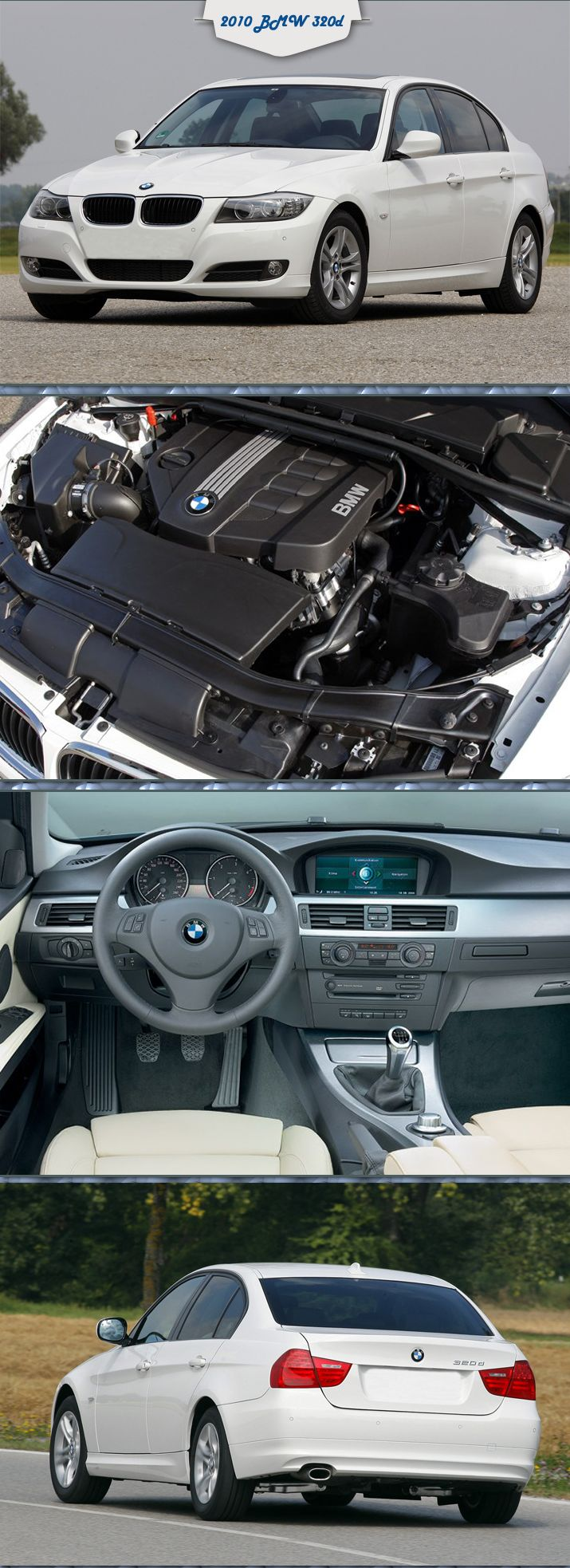 #BMW #320d ED Plus Is Better Than Ever More Details at: http://www.engineprices.co.uk/