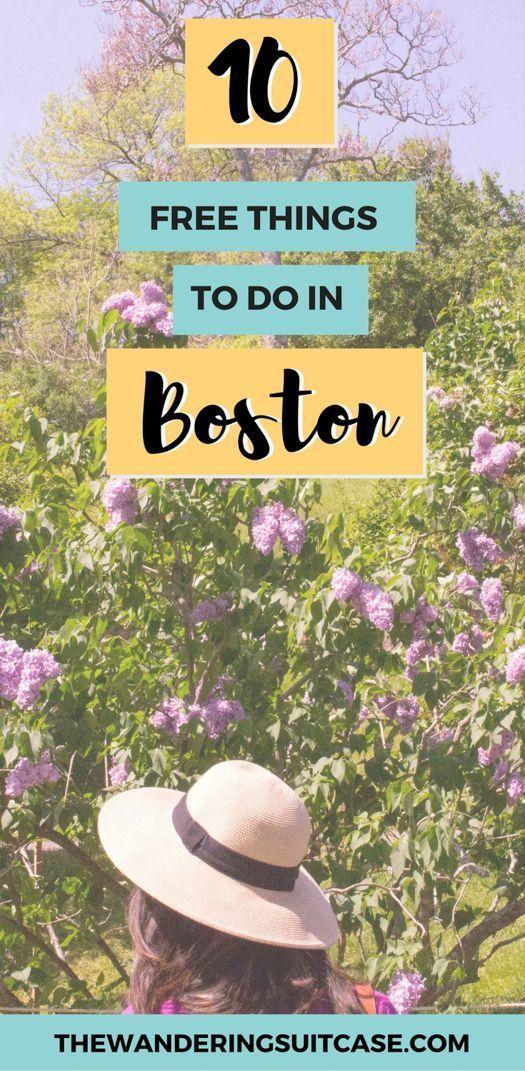 Free things to do in Boston, Massachusetts, USA | Budget guide to Boston | USA travel | Budget USA | United States of America | Massachusetts travel #bostontravel #budgetUSA #USAtravel via @wanderingsuitca