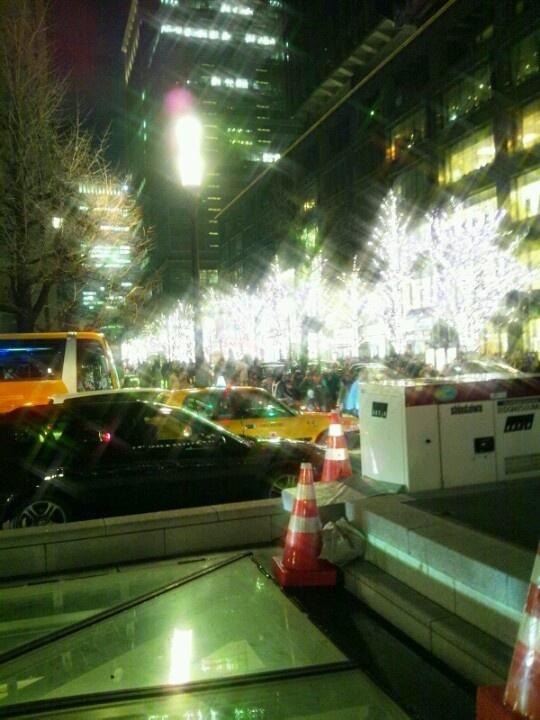 2012.12.22 丸の内イルミネーション