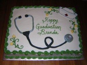 Nurse Graduation Cake | Gallery of Graduation Cakes nursing graduation cake ...