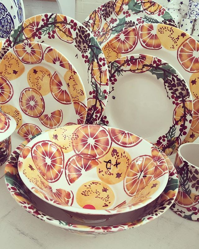 These will look so yummy at Christmas ❤️ #emmabridgewater #preview #christmas…
