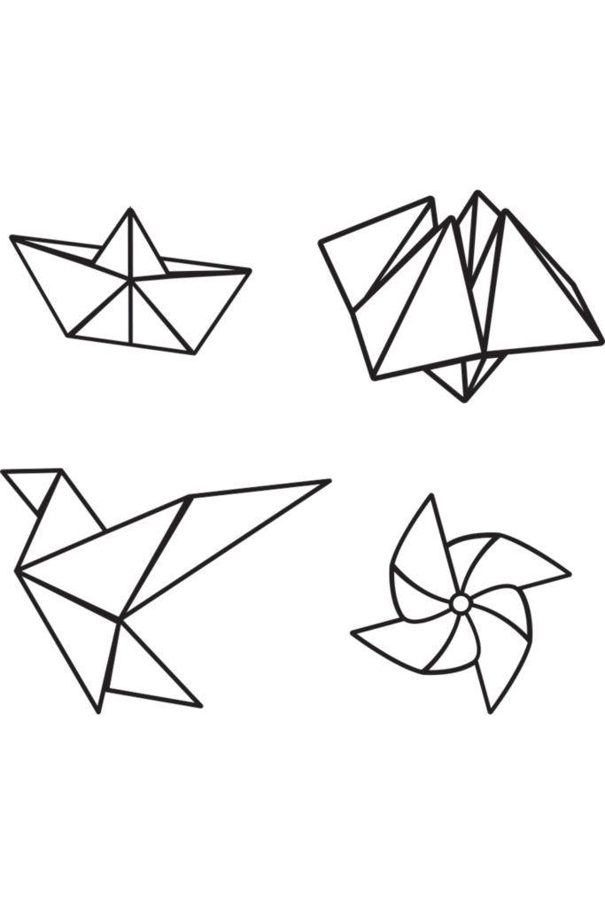 Birchbox : T.E.M - Tatouages éphémères miniatures Origami - Tatouages éphémères miniatures Origami