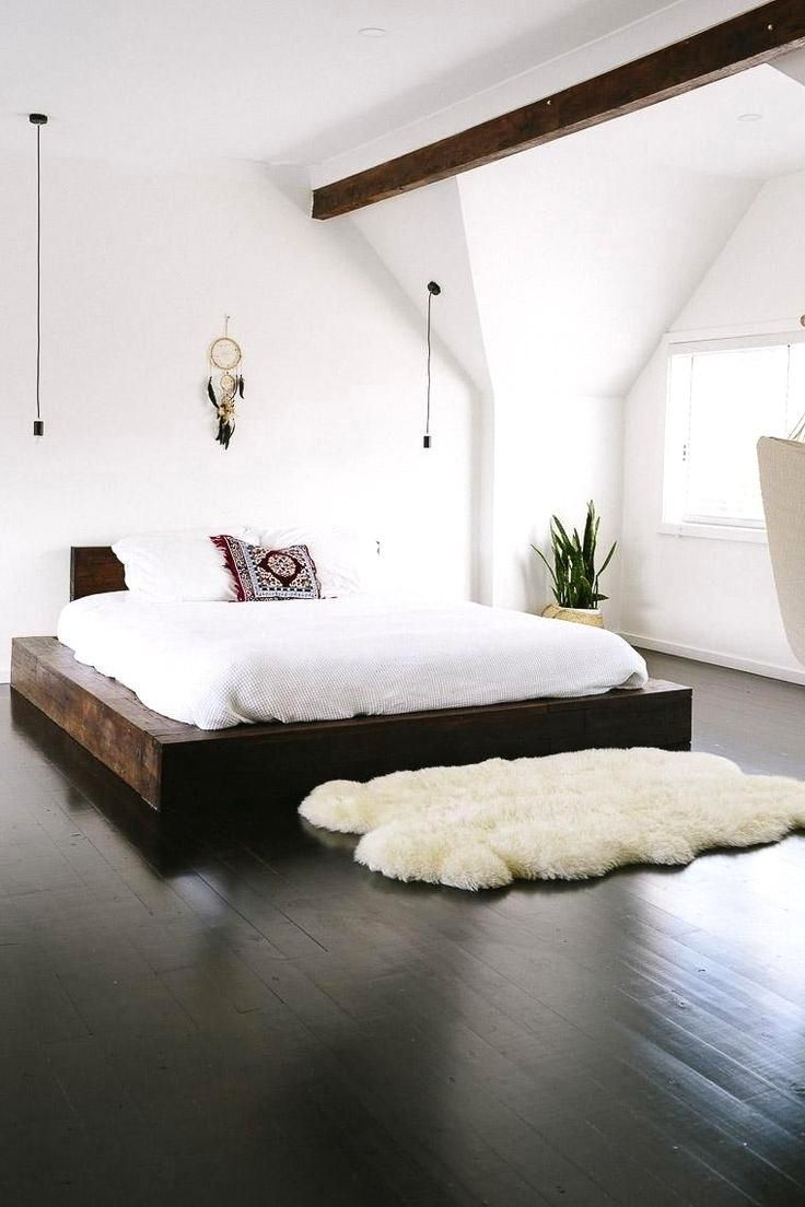 20 Elegant Dark Hardwood Floor Bedroom Ideas Modern Minimalist Bedroom Master Bedrooms Decor Scandinavian Design Bedroom