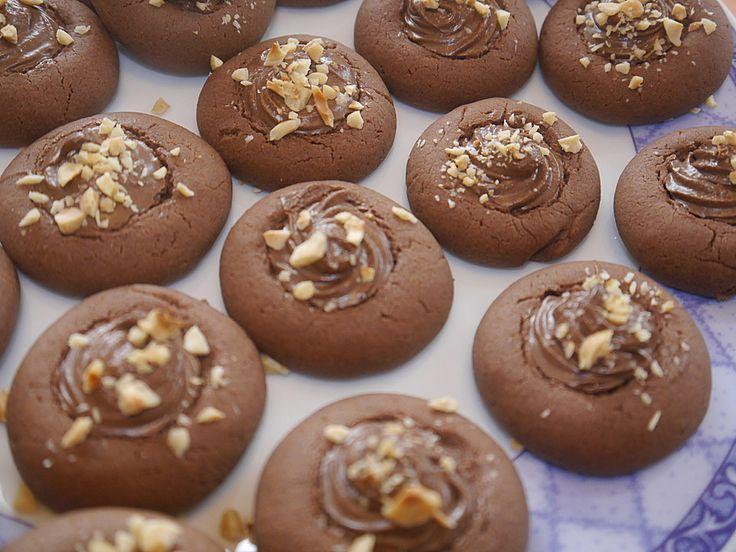 die besten 25 nutella pl tzchen ideen auf pinterest pl tzchen rezept pl tzchen und nutella kekse. Black Bedroom Furniture Sets. Home Design Ideas