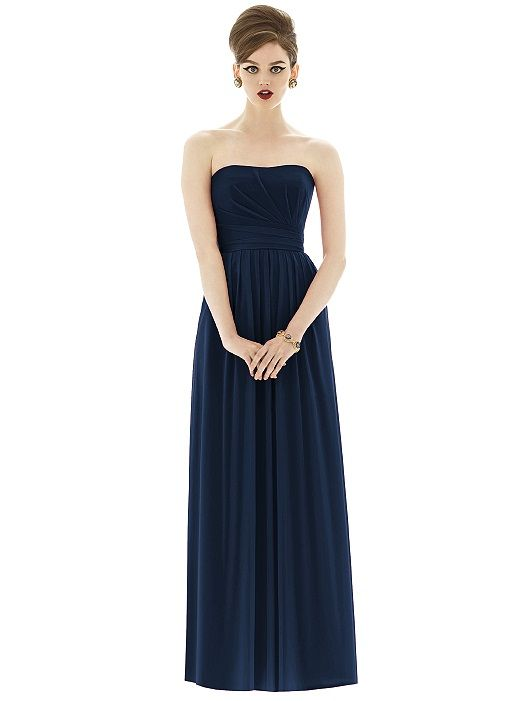 Alfred Sung Style D651 http://www.dessy.com/dresses/bridesmaid/d651/?color=midnight&colorid=47#.UrgbB38gGK0