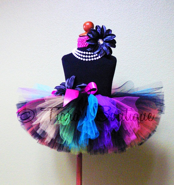 Fun Birthday Tutu for all ages. $34.95, via Etsy.
