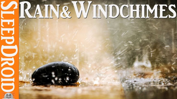 ►10 hours of Relaxing Rain & Wind chimes. The wonderful sound of falling...