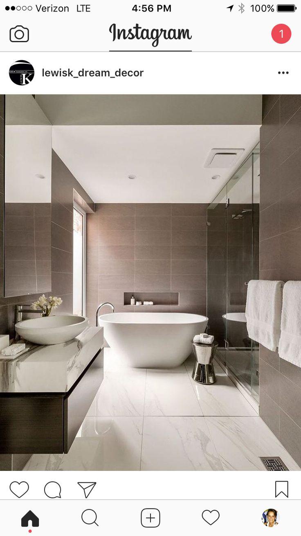 88 best Modernes Wohnen images on Pinterest | Bathroom, Bathroom ...