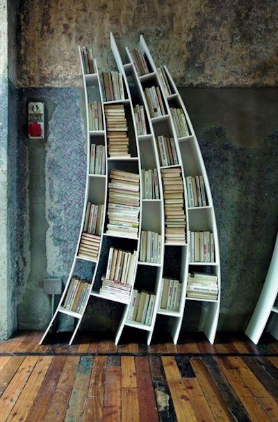 Not your ordinary bookshelf - do you like it?