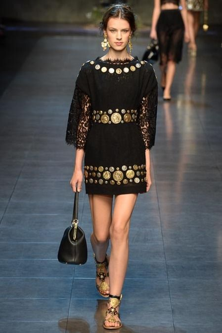 #MFW - Runway #Dolce & #Gabbana Spring 2014 Ready-to-Wear Collection