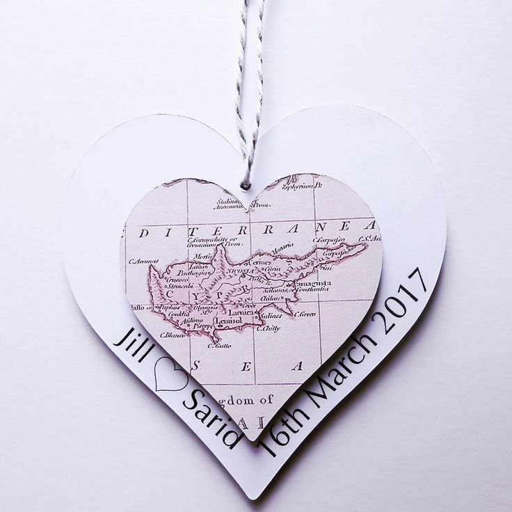 Brand new product now available on our etsy shop 💝 #travel #explore #map #wanderlust #bride #wedding #goodluck #keepsake #anniversary #wedding #decor #homedecor #gift #sculpture #handmade #madewithlove #paper #love #heart #cyprus #firstanniversary