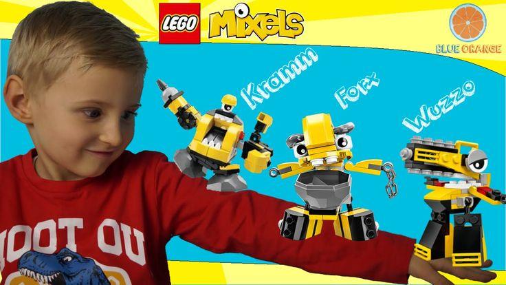 LEGO Mixels Series 6 WELDOS: Kramm, Forx, Wuzzo Build Review  41545, 415...