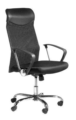 Krzesło biurowe BILLUM czarne | JYSK