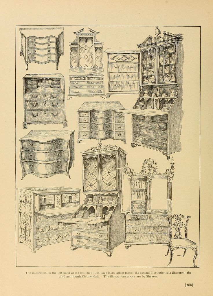 Period furnishings; an encyclopedia of historic. - 67 Best Decorating - Antique & Period Furniture Styles