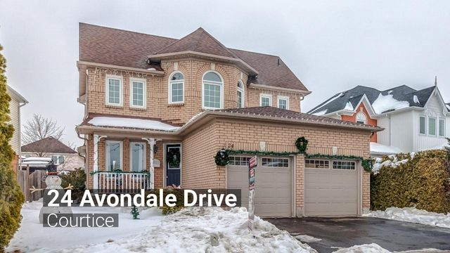 24 Avondale Dr., Courtice | Enjoy all the upgrades in this 3+1 bedroom all brick home, with new inground saltwater pool '17! Great location in sought after Courtice. New laminate floors throughout main floor. Family room with floor to ceiling fireplace mantle & built-in 4K flat screen TV. Kitchen with high-end stainless steel appliances & gas range '16. Breakfast area walk out to wrap around deck overlooking large heated saltwater pool with LED light & deck extended '17. Master with 4pc…