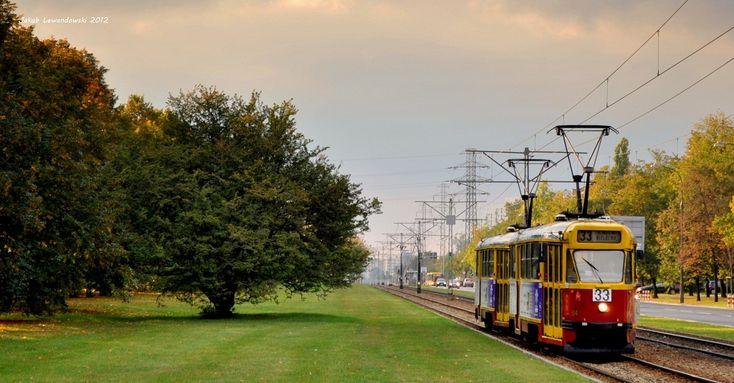 Tram, Warsaw