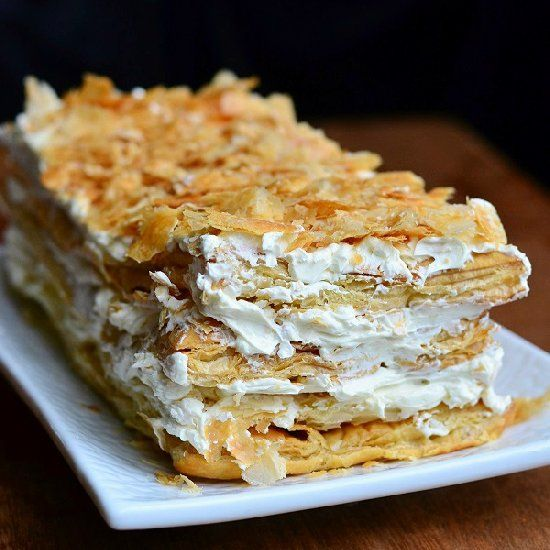 Best 25 Napoleon Cake Ideas On Pinterest Italian