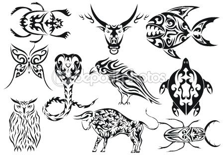 tribal animals