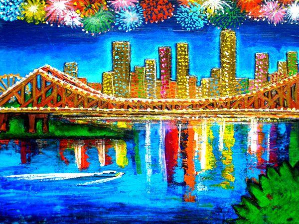 Story bridge Brisbane Queenlsand Australia