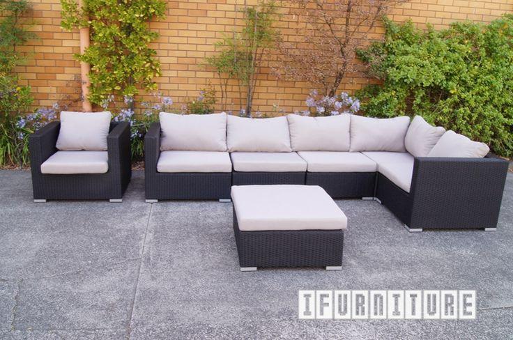 LAVANDA Rattan Modular Sofa , Outdoor