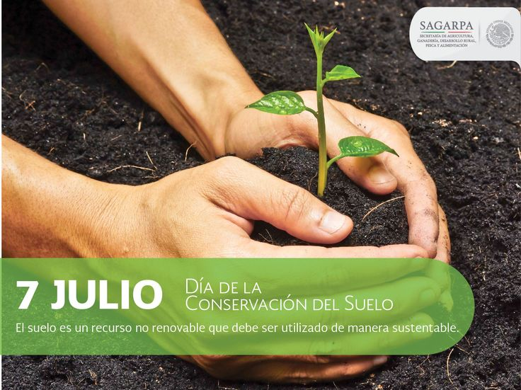 Día de la conservación del suelo. SAGARPA SAGARPAMX