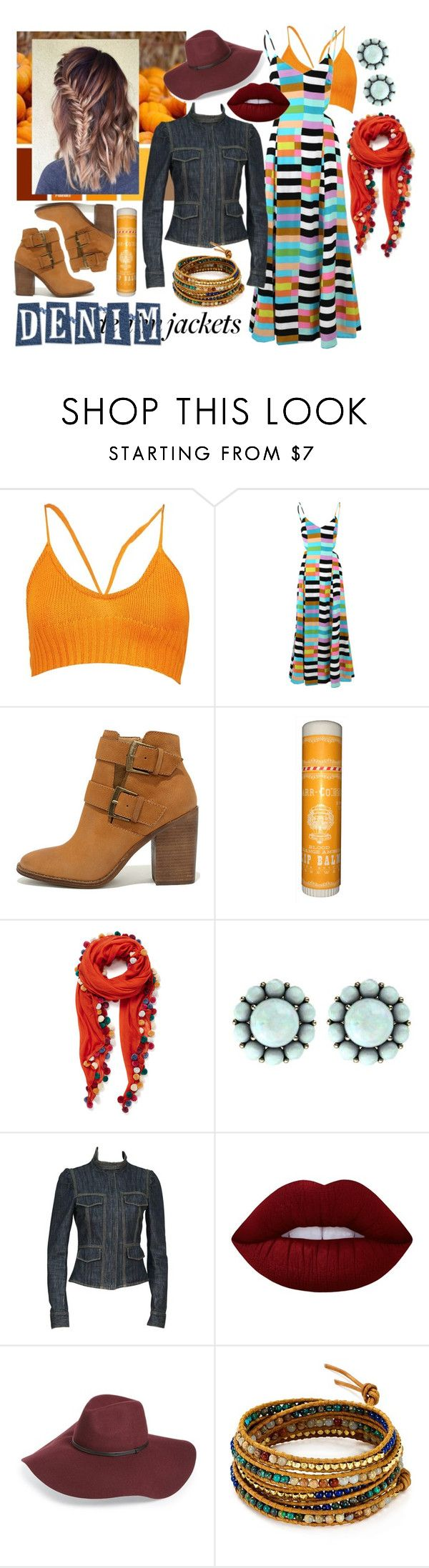 """""""Pumpkin Patch"""" by cnhameister ❤ liked on Polyvore featuring Boohoo, Mara Hoffman, Steve Madden, Jane Carr, Color My Life, Gucci, Lime Crime, Halogen, Chan Luu and contestentry"""